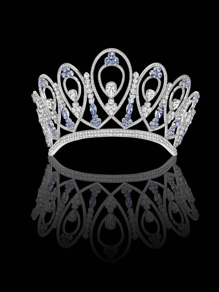 couronne O'céleste Miss France 2018