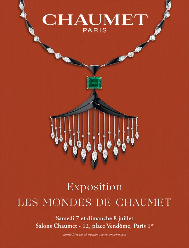expo Chaumet affiche